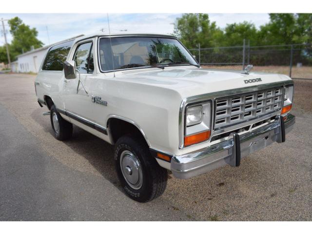Royal Ram: 1984 Dodge Ramcharger Prospector