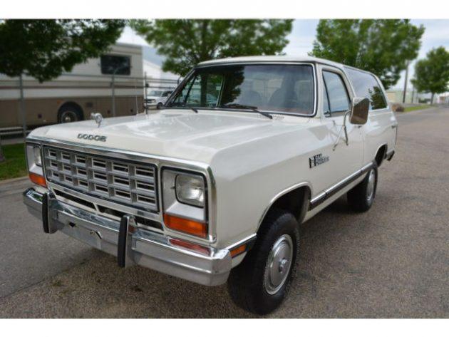 062616 Barn Finds - 1984 Dodge Ramcharger Royal SE - 2