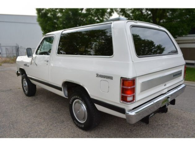 062616 Barn Finds - 1984 Dodge Ramcharger Royal SE - 3