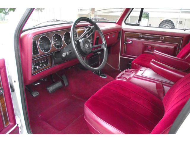 Royal Ram 1984 Dodge Ramcharger Prospector