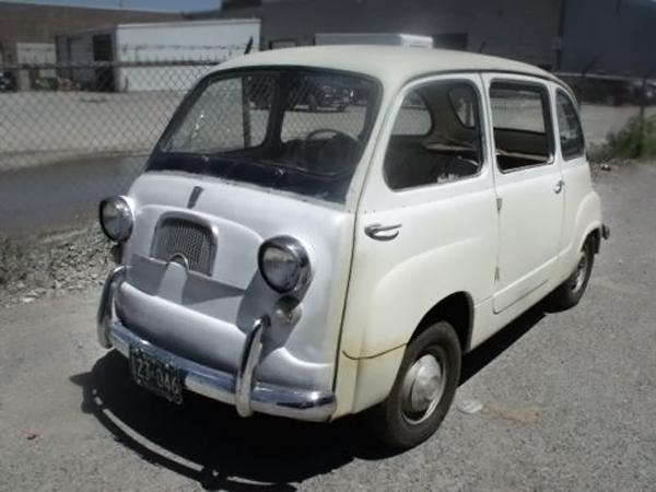 first minivan 1959 fiat 600 multipla. Black Bedroom Furniture Sets. Home Design Ideas