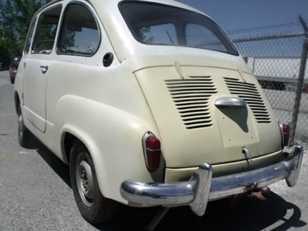 062716 Barn Finds - 1959 Fiat 600 Multipla - 3