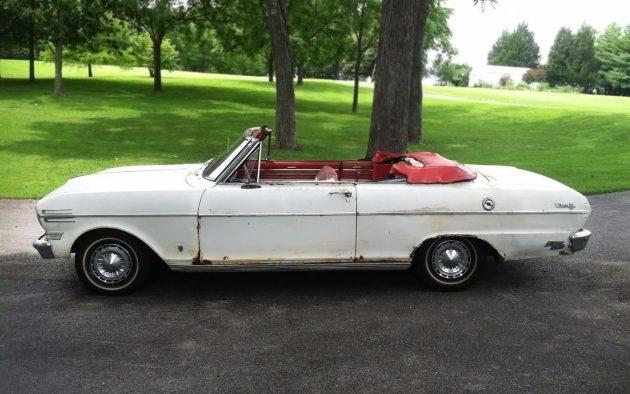 Inside Beauty: 1962 Chevrolet Chevy II Nova 400
