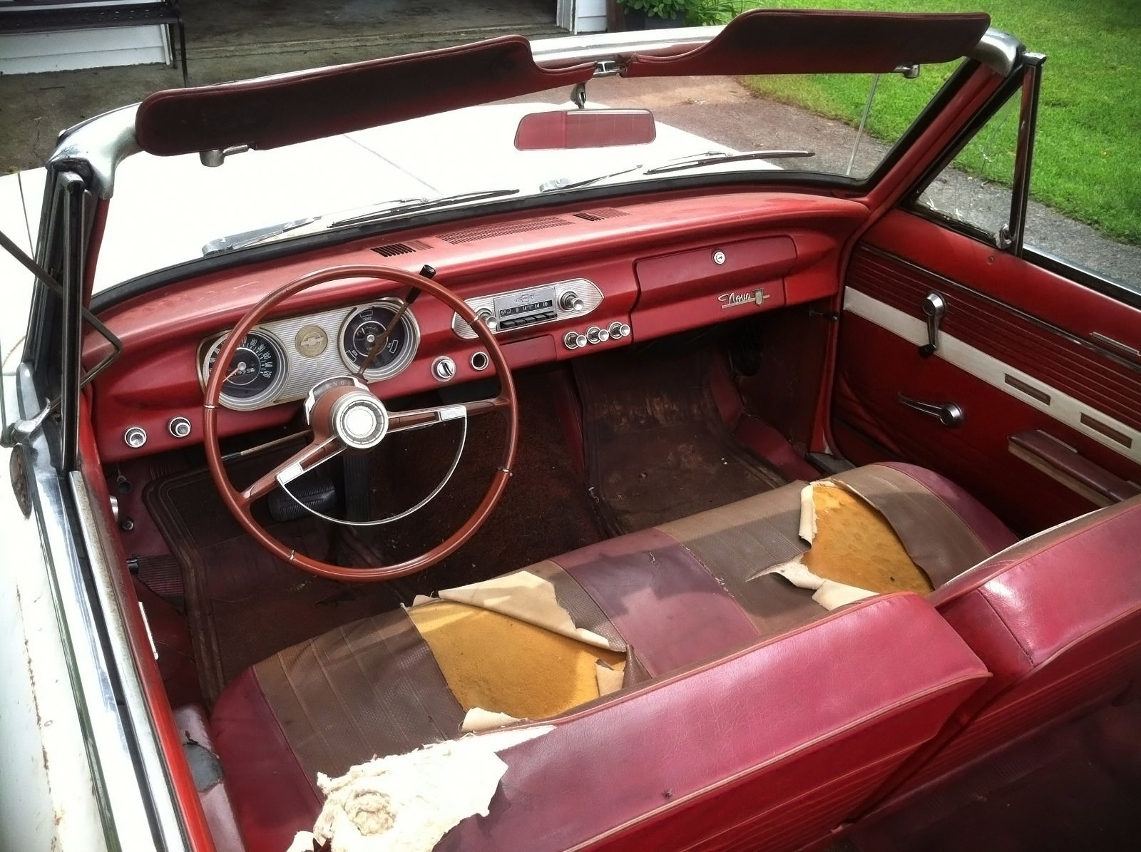 inside beauty 1962 chevrolet chevy ii nova 400. Black Bedroom Furniture Sets. Home Design Ideas