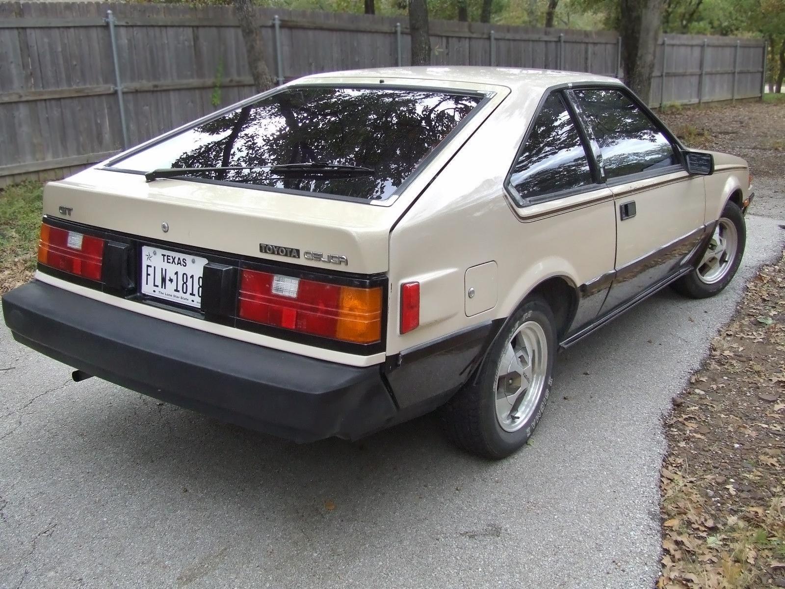 Tan Texas Toyota 1982 Toyota Celica Gt