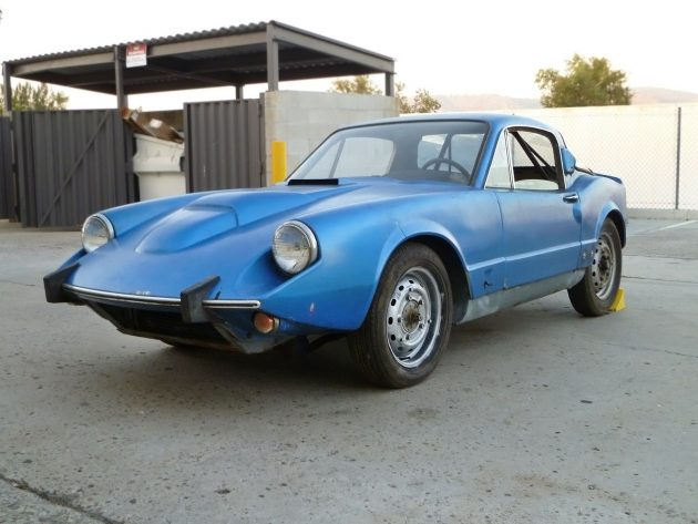 Swedish Rarity: 1969 Saab Sonett V4