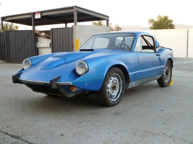 Swedish Rarity: 1969 Saab Sonett V4