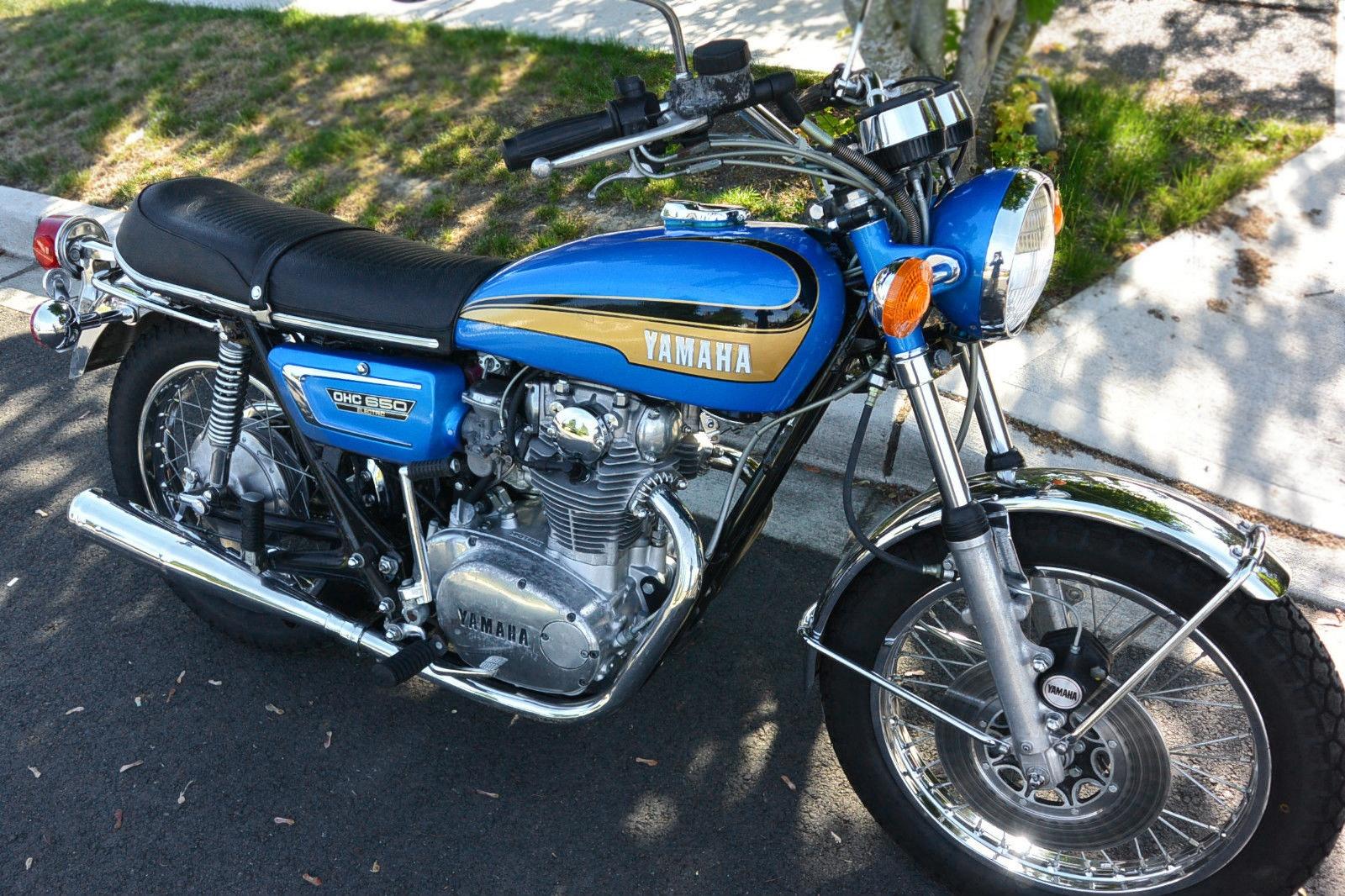 xs 39 essively nice 1973 yamaha tx650