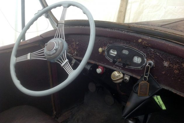 1929 Whippet 98A Interior