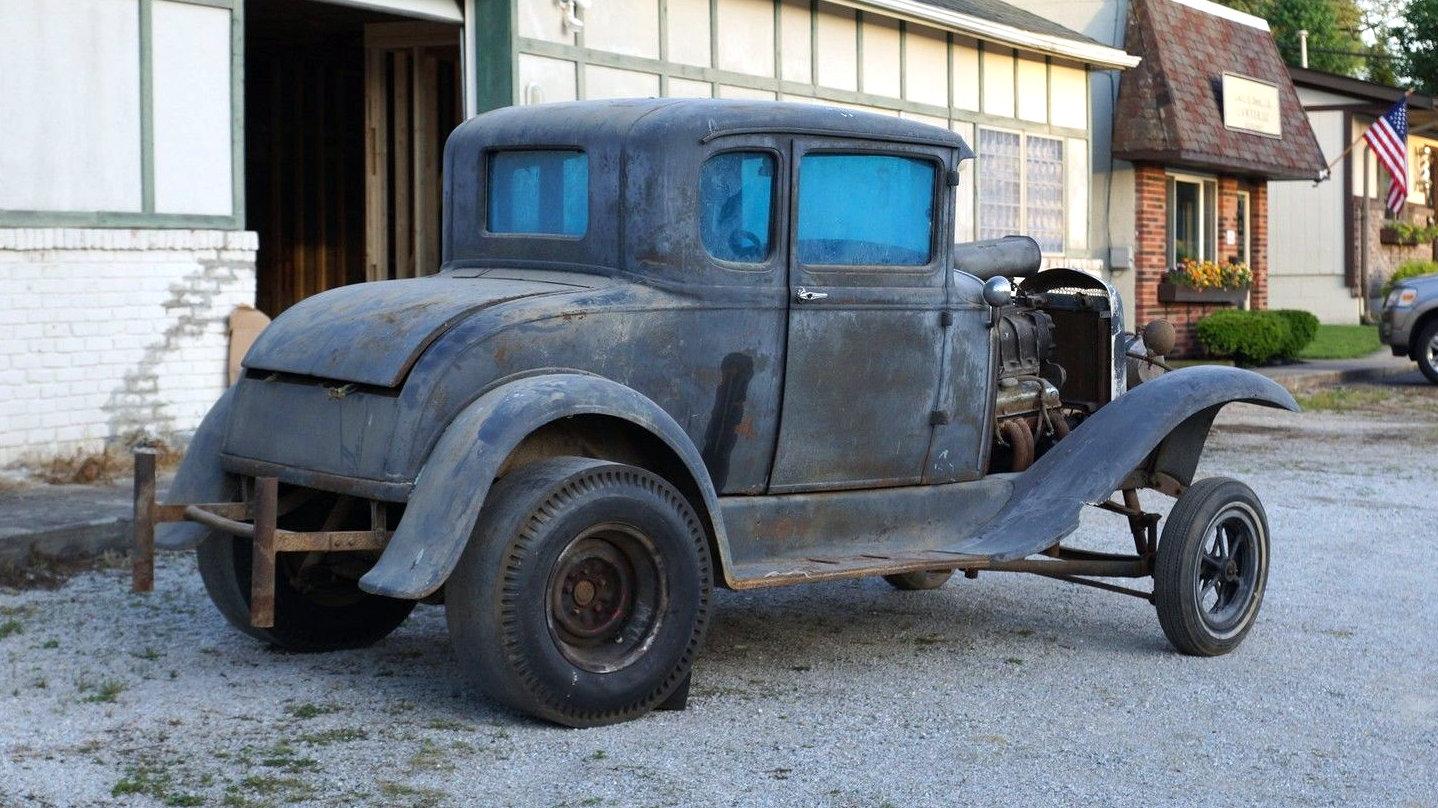 Ford Racing Parts >> OG Gasser: 1930 Ford Model A