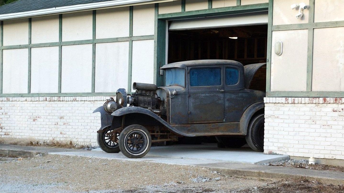 Barn Find Cars >> OG Gasser: 1930 Ford Model A