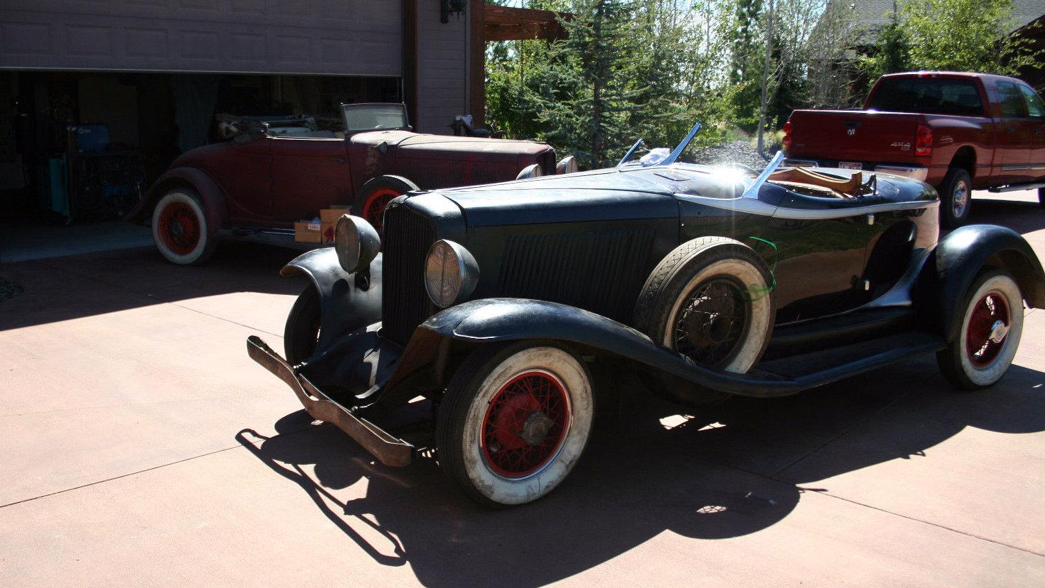 Needs Finishing: 1931 Auburn Boat Tail
