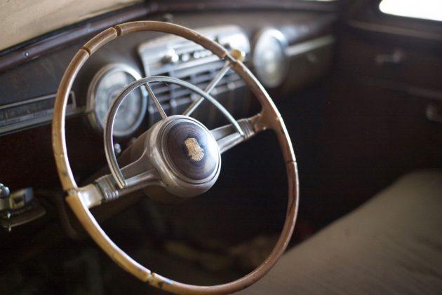 1941 Cadillac Series 62 Interior