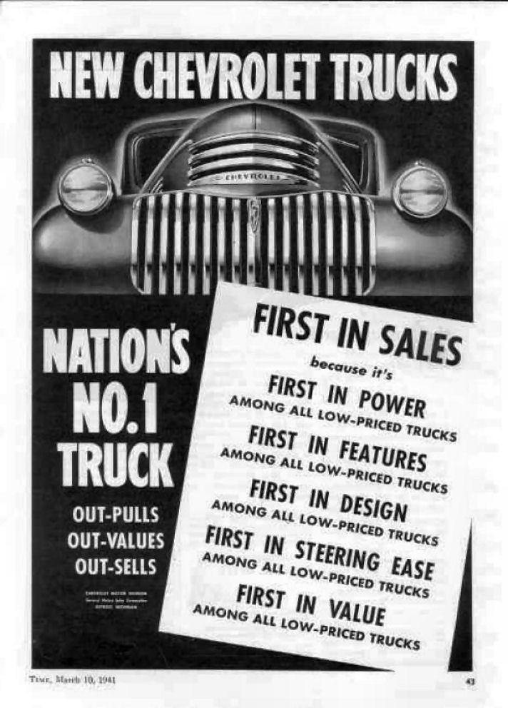Farm Fresh: 1941 Chevrolet Pick Up