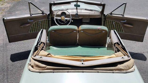 1949 Ford Custom Plaid Interior