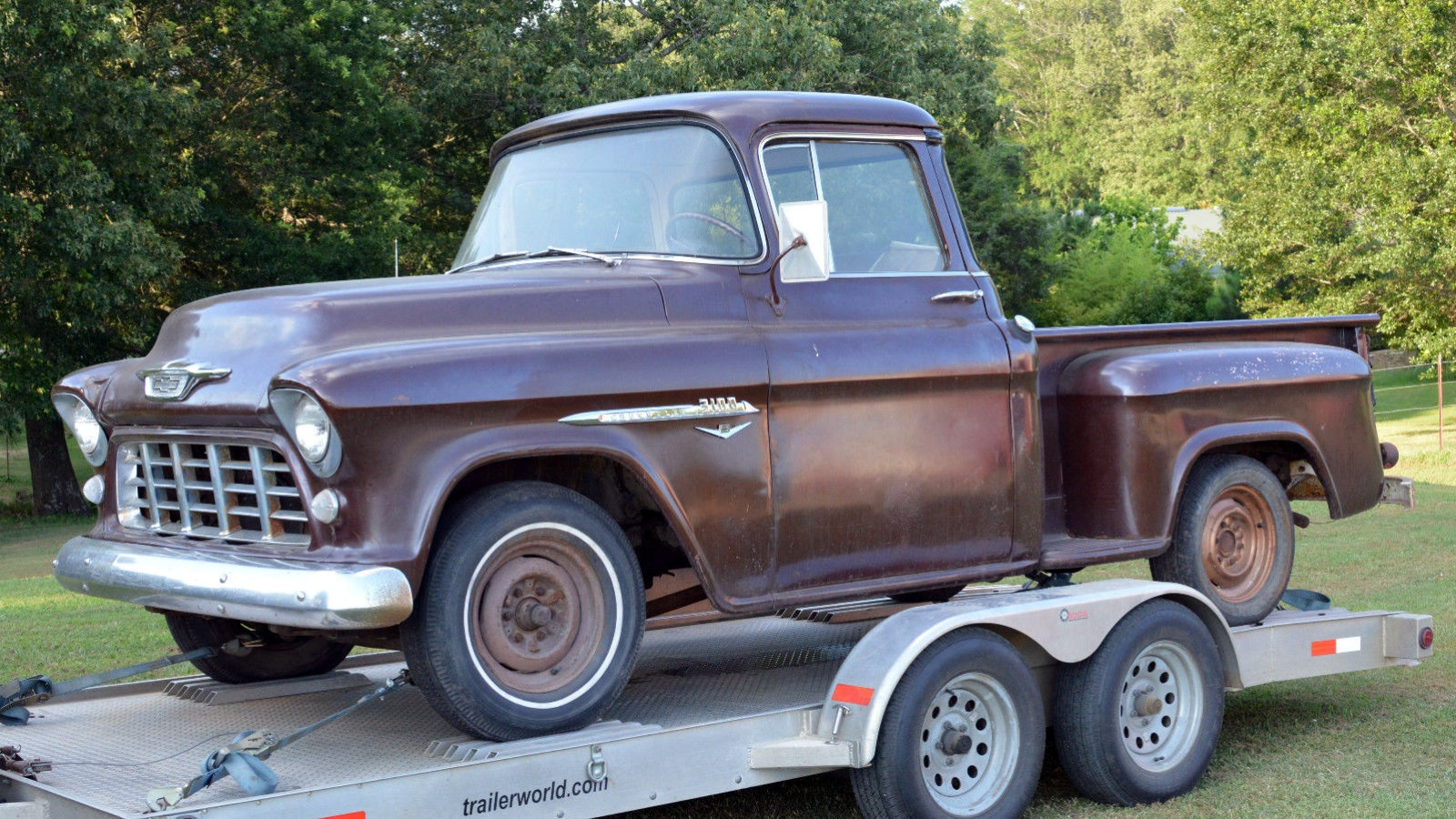 farm fresh 1955 chevrolet 3100