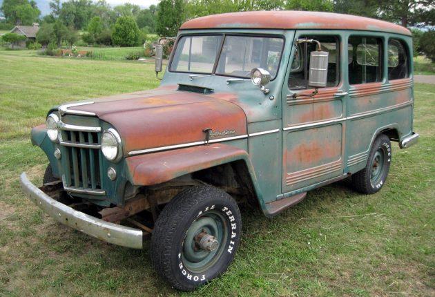 Willys Jeep Truck >> 4-Wheeling: 1956 Willys Wagon