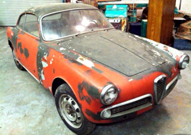 1957 Alfa Romeo Giulletta Sprint