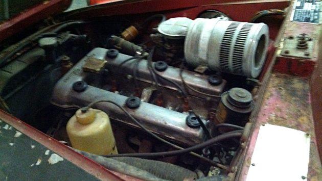 1957 Alfa Romeo Giulletta Sprint Engine