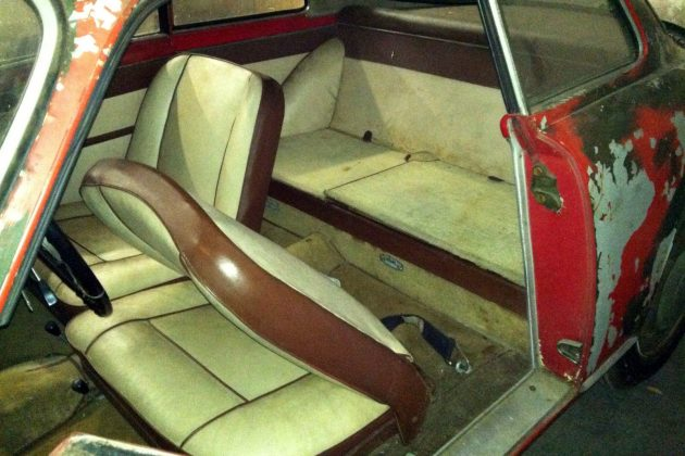 1957 Alfa Romeo Giulletta Sprint Interior