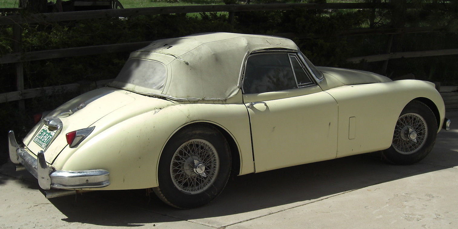 1958 Jaguar Xk150 Hot Rod