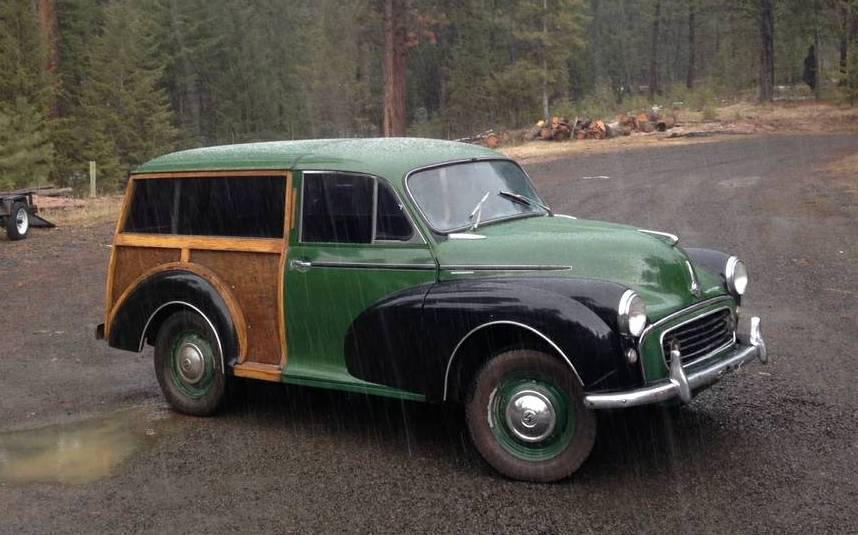 Hobbit Hearse: 1959 Morris Minor Traveller