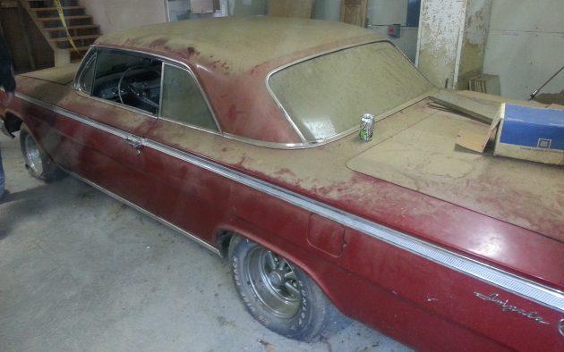 1962 Impala As Found