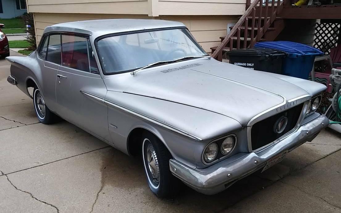 Hyper-Pak Needed: 1962 Plymouth Valiant Signet