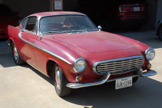Flashback Find: 1964 Volvo P1800 S