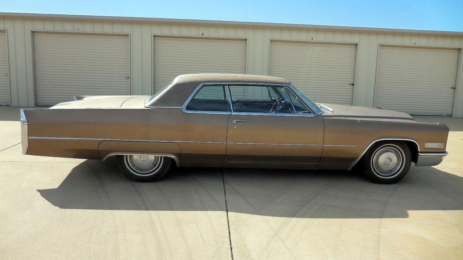Black Plate : 1966 Cadillac Coupe DeVille
