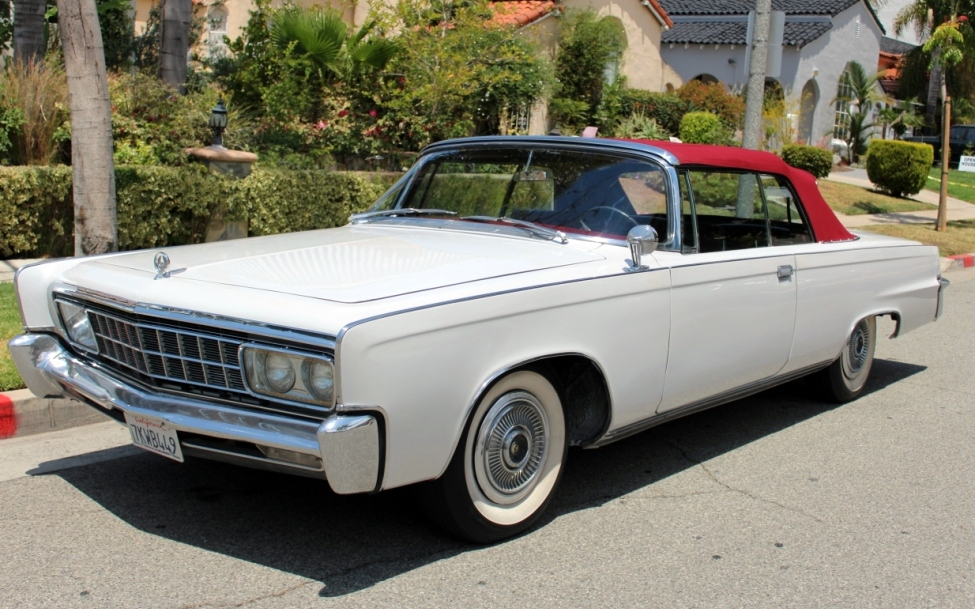 crown jewel 1966 chrysler imperial convertible. Cars Review. Best American Auto & Cars Review