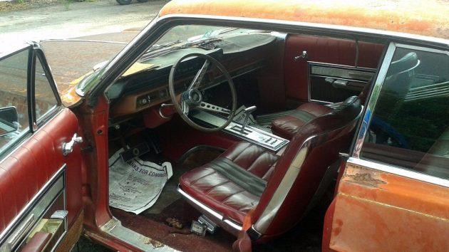 1966 Ford Galaxie 500 Interior