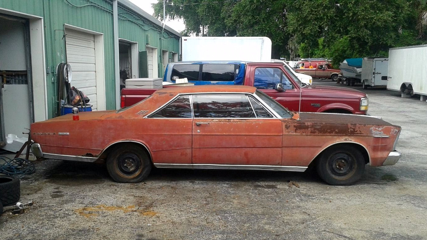 rust included 1966 ford galaxie 7 litre