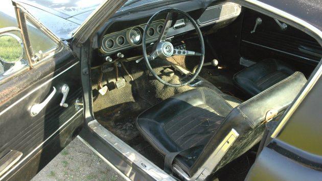 1966 Mustang Fastback Interior