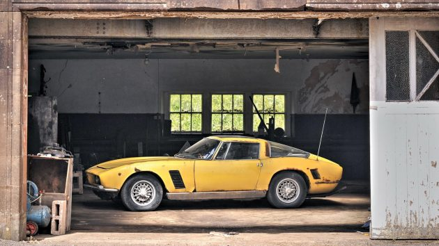 1967 Iso Grifo GL Barn Find!