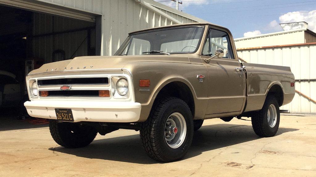 Original 4x4 1968 Chevrolet K10