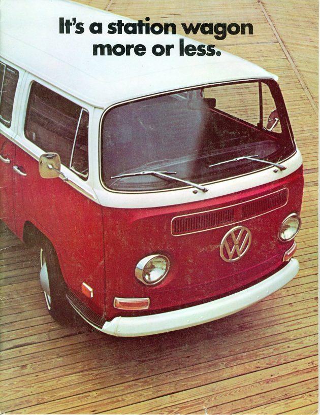 1971 VW bus ad
