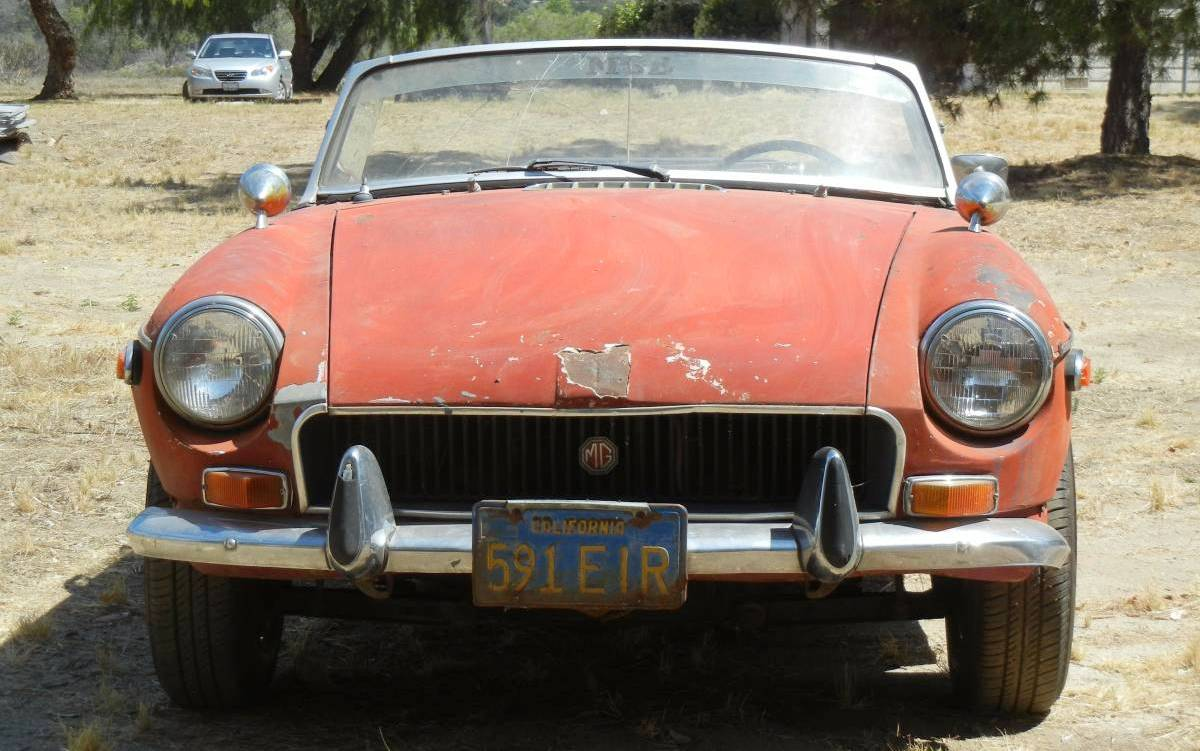 Chrome Bumpers Are Better 1971 Mgb Roadster