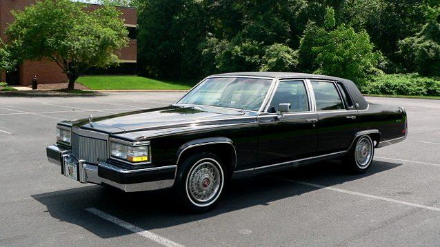 1 842 Mile 1991 Cadillac Fleetwood