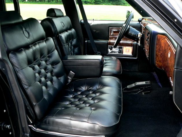1991 Cadillac Brougham Interior