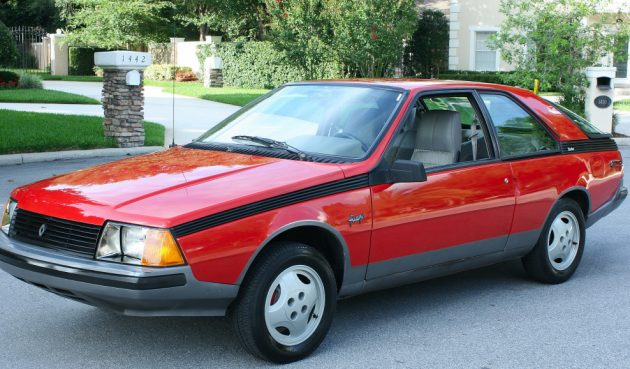 Nicest One Left? 1982 Renault Fuego