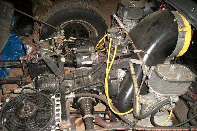 Beck 550 Spyder Engine