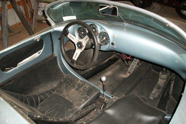 Beck 550 Spyder Interior