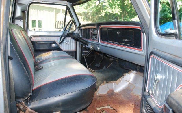 Free Wheelin Interior