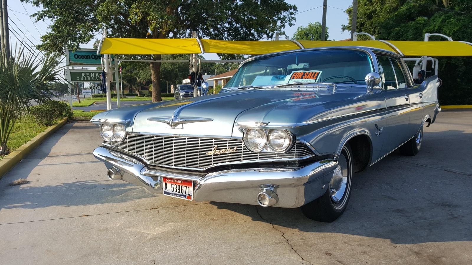 Impressive Fins: 1960 Imperial Custom