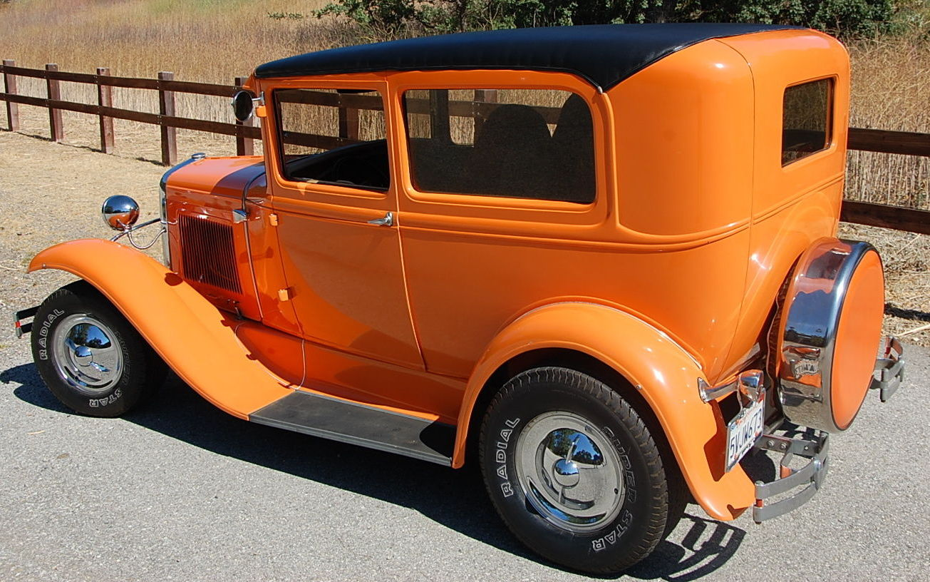 Built In The 80\'s: 1929 Model A Hot Rod