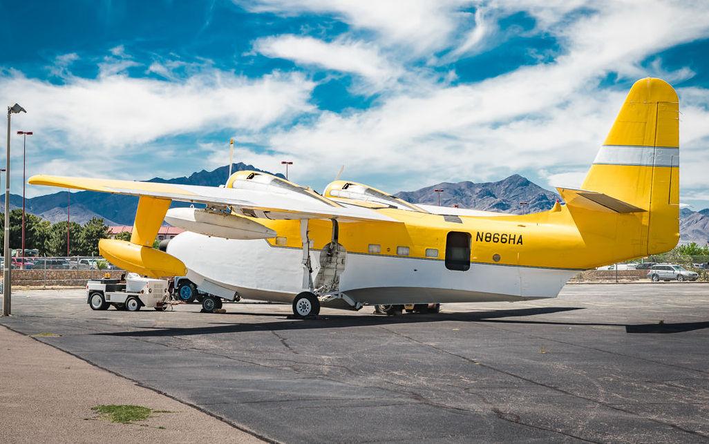 Camper Plane: 1951 Grumman Albatross