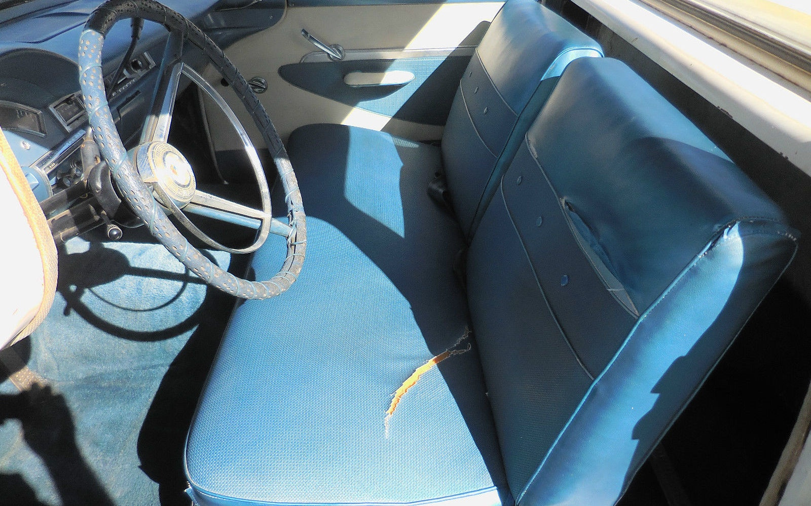 What To Do With Old Car Seats >> T-Bird Power: 1957 Ford Ranchero