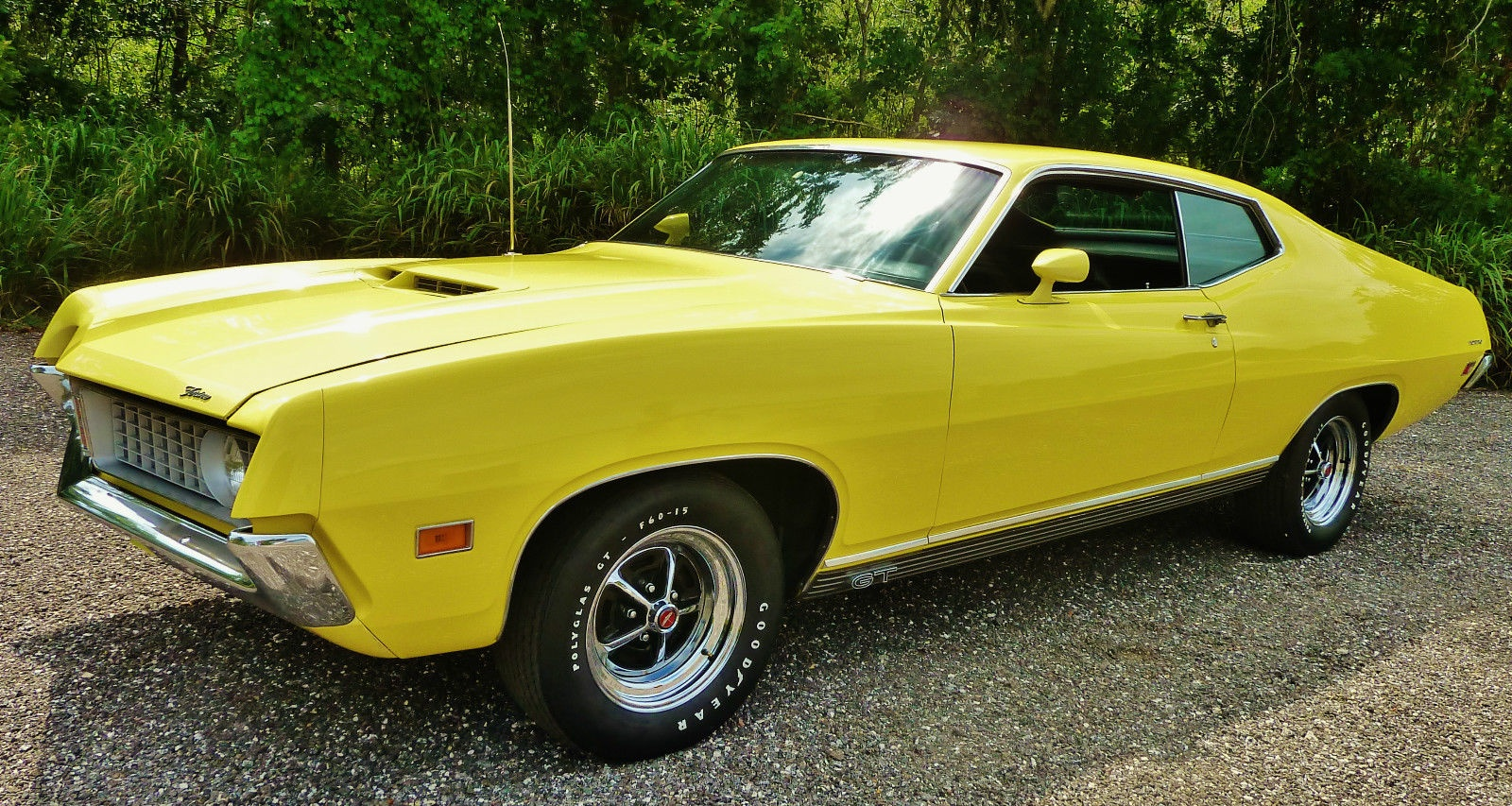 New Ford Torino >> Screaming Yellow Zonker: 1971 Ford Torino GT