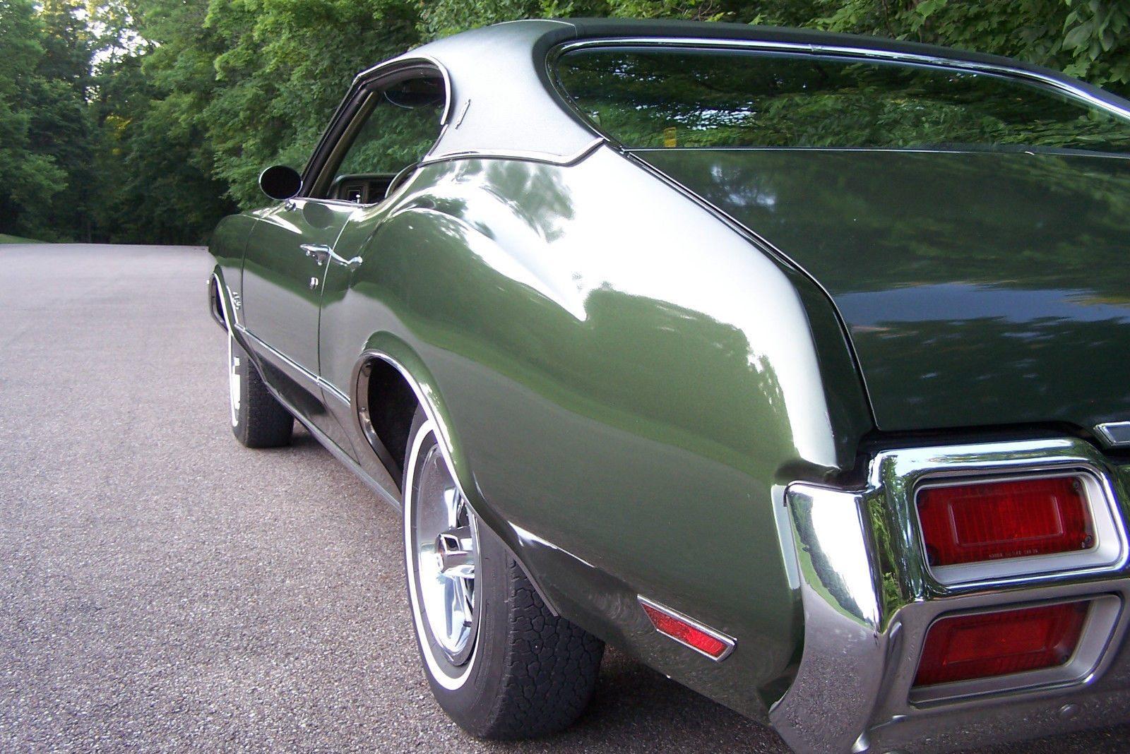 Certified Original! 34,290 Mile 1971 Oldsmobile Cutlass S